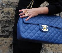 Inspiring picture bag, blue, butterfly, chanel, fashion, girl. Resolution: 600x402 px. Find the picture to your taste!