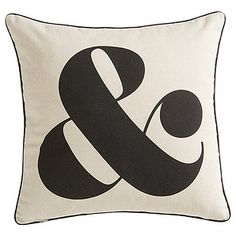 Our Ampersand reversible cushion is the perfect way to compliment an existing look or to become part of something completely new. With a...