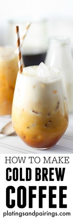 Learn how to make cold brew coffee with this easy step-by-step tutorial!