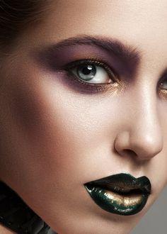 SONYA vol.2 by Mikhail Malyugin, via Behance Makeup Art, Lip Makeup, Beauty Makeup, Makeup Stuff, Makeup Ideas, Fashion Makeup Photography, Female Lips, Female Faces, Ombre Lips