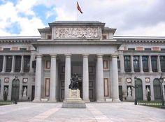 Museo del Prado. Art museum in Spain.