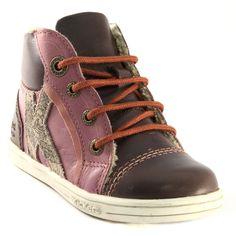 653A KICKERS TACHO MARRON www.ouistiti.shoes le spécialiste internet de la chaussure bébé, enfant, junior et femme collection automne hiver 2015 2016