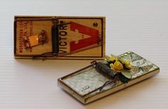 How-To: Build A Prettier Mousetrap! #DIY #crafts