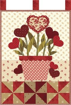 Little Blessings Wallhanging Club - Shabby fabrics ....check out completed quilt at booth