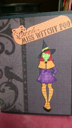 Little Witch/Prima Doll Stamp