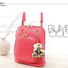 TAS IMPORT KODE: 82215  IDR.190.000  MATERIAL PU  SIZE L28XH29XW12  WEIGHT 1000GR  COLOR PINK