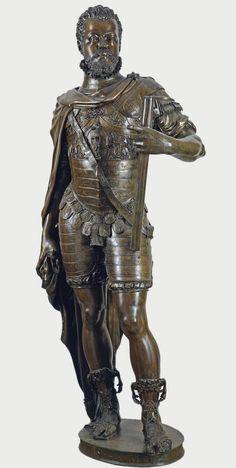 León LEONI y Pompeo LEONI: Felipe II. Museo del Prado.