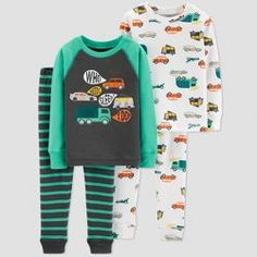 Toddler Boys  Transportation Pajama Set - Just One You® made by carter s  Blue   Target c2bacf24a