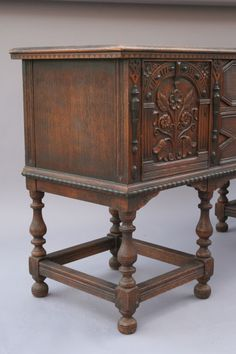 Rockford Furniture Company 1900 Dining Room Set Table 6 Chairs Buffet Chest Rockford