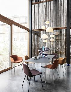 FIBER SIDE - Modern Scandinavian Design Shell Chair by Muuto - Muuto