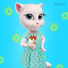 First things first! The sun is out and I have some ice cream! Monday, I like you!  xo,Talking Angela #TalkingAngela #MyTalkingAngela #LittleKitties #outfit #ootd #sun #sunlover #sunny #yellow #cute #fashion #icecream #summer #monday
