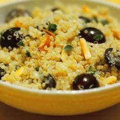 Quinoa Salad With Grapes from The Kitchn - Sweeten up your quinoa salad with fresh grapes. Found at www.edamam.com.