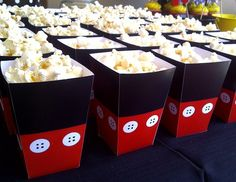 Mickey Mouse Popcorn Boxes