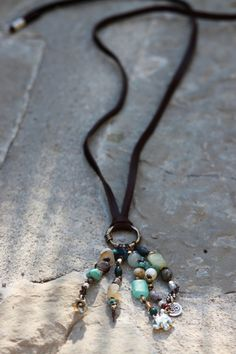 Calm Flow Tassel Necklace by bellacornicello on Etsy, $50.00