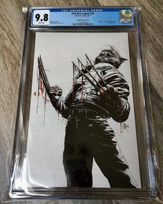 One of the hottest covers to drop this year limited to only 600 copies worldwide. Old Man Logan Virgin Bloody Claw Variant issue 25 a Mike Deodato masterpiece. @igcomicstore has a limited amount of graded CGC 9.8 books available for purchase DM them directly or visit their website before they sell out. IGComicstore is a first class operation from start to finish satisfaction is always guaranteed.   Download images at nomoremutants-com.tumblr.com  Key Film Dates  Marvel-  Thor: Ragnarok: Nov…