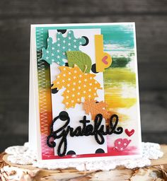 Bella Blvd Oh My Stars collection and Illustrated Faith You Are Loved collection | Grateful by Laurie Schmidlin