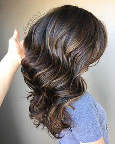 Long Wavy Ash-Brown Balayage - 20 Light Brown Hair Color Ideas for Your New Look - The Trending Hairstyle Brown Hair Balayage, Brown Hair With Highlights, Hair Color Balayage, Brown Hair Colors, Ombre Hair, Dark Balayage, Coffee Brown Hair, Coffee Hair, Light Brown Hair