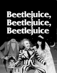 Tim Burton Beetlejuice