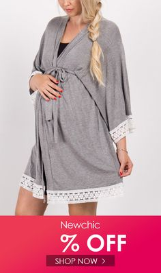 I found this amazing Lace Patch Maternity V-Neck Long Sleeve Sleep Dress with 14 days return or refund guarantee protect to us. Sleep Dress, Make Money Now, Maternity Dresses, Clothes For Sale, Night Gown, Dress Outfits, Shop Now, Patches, V Neck