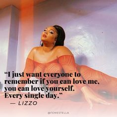 Why Lizzo Says Being Single Is the Best - lizzo feminist body positive quotes self love - Body Love, Loving Your Body, Nice Body, Carrie Fisher, Corps Normal, Inspirational Celebrity Quotes, Big Girl Quotes, Plus Size Quotes, Positiv Quotes