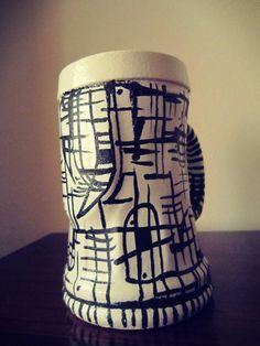 Beer Chop - Ceramic Mayolica 2015 Sophia Lenzi