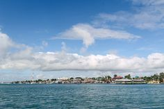 Landscape Kabupaten Maluku Tenggara dari Kota Tual