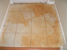 How To Clean Red Mud, Paint & Other Stains Off Tile