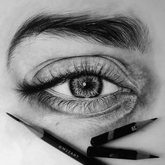 Discover the secrets of drawing realistic pencil portraits Realistic Pencil Drawings, Pencil Art Drawings, Art Drawings Sketches, Eye Drawings, Doodle Design, Eye Sketch, Art Of Manliness, Eye Art, Art Projects