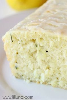 Another Pinner Posted: Glazed Lemon Zucchini Bread