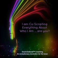 Are you co-scripting life?