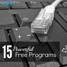 15 Powerful Free Computer Programs