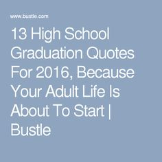 words of inspiration for high school and college graduation