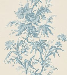 Crowson Paper Perfect 2 Helena Cream and Blue - H7320 Pattern