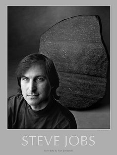 Steve Jobs at Next Office 1989 by Tom Zimberoff