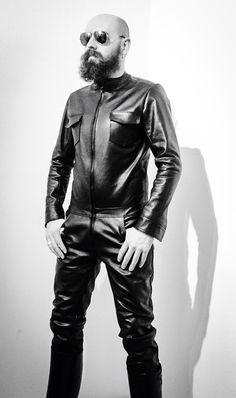 leather full suit designed by Harald Ligtvoet