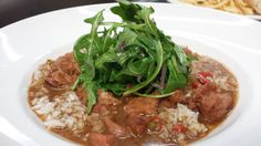 Who got to try our SEWE Special? Gator Sausage  Gumbo,  Carolina Gold Rice,  Baby Arugula.