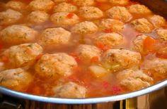 Romainian meatball soup. Ciorba de perisoare (Romania) | 29 Heavenly Christmas Foods From Around The World