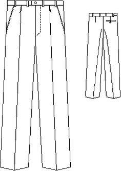 Pánské kalhoty   cz