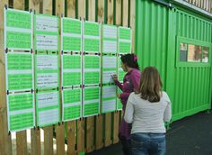 RECYCLAB AND VERTICAL GARDEN: PARTICIPATIVE COLLECTION OF IDEAS AND SMALL EXHIBITION | R-Urban English