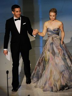 Jake Gyllenhaal and Rachel McAdams Photos Photos - Actors Jake Gyllenhaal and Rachel McAdams present onstage during the 82nd Annual Academy Awards held at Kodak Theatre on March 7, 2010 in Hollywood, California. - 82nd Annual Academy Awards - Show