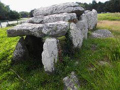 Dolmen de Carnac, Morbihan.  Brittany
