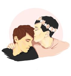 """sunnyaalisse: """" When we see a relatable person held and comforted by the person we like, we feel a little better ourselves. It's not that we want to see someone sad, it's that we want to see them made happier. It's transparent. Dan And Phil Memes, Dan And Phil Fanart, Phan Is Real, Danisnotonfire And Amazingphil, Tyler Oakley, Phil Lester, Look At The Stars, Dan Howell, Make Happy"""