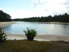 GC3MKCF   50 min rijden   In boswachterij Sleenerzand ligt Kibbelkoele, eigenlijk een oude zandwinningsplek. Het heeft in ieder geval een heerlijke, schone zwemplas op met een ruim zandstrand waar ook de allerkleinsten spetterplezier kunnen beleven. Bij de kiosk kun je terecht voor eten en drinken en er is volop picknickgelegenheid. Ook zijn er toiletten