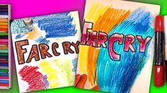 How to draw a logo FarCry / Art for Kids