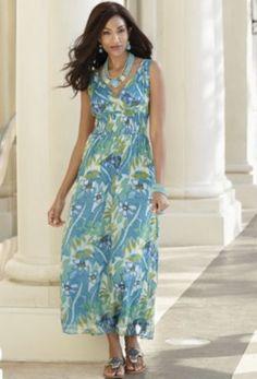 Island Breeze Dress from Midnight Velvet. www.midnightvelvet.com