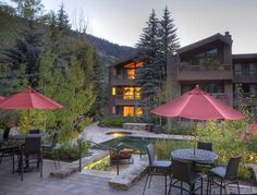 The Gant - Aspen, Colorado.  Stayed here once.  Great location and wonderful view of Ajax mountain