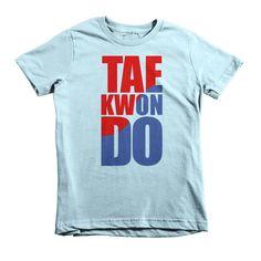 Taekwondo Short Sleeve Kids T-Shirt