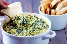 Spinach Artichoke Dip | Gimme Some Oven
