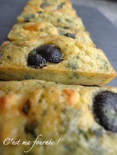 C'est ma fournée ! : Minis cakes féta olives et menthe pour l'apéri...kif !