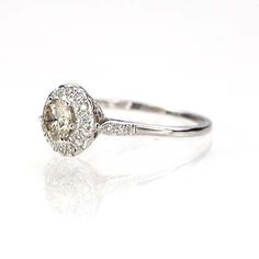 I think I love this ring.  A LOT . Leigh Jay Nacht Inc. - Replica Victorian Engagement Ring - 3306-01